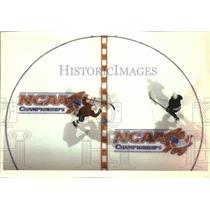 1993 Press Photo The Maine Black Bears practiced for the match with the Michigan