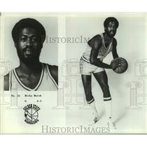 Press Photo Golden State Warriors basketball player Rick Marsh - sas17978