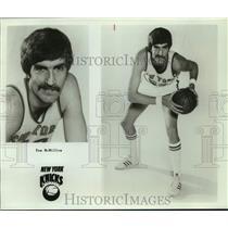 Press Photo New York Knicks basketball player Tom McMillen - sas18053