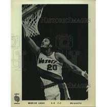 Press Photo Portland Trail Blazers basketball player Maurice Lucas - sas17624