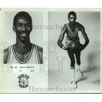 Press Photo Golden State Warriors basketball player Larry McNeill - sas18030