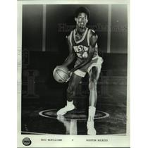 Press Photo Houston Rockets basketball player Eric McWilliams - sas17669