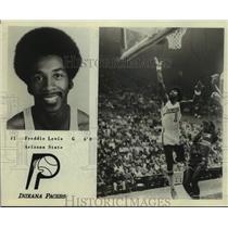 Press Photo Indiana Pacers basketball player Freddie Lewis - sas17991