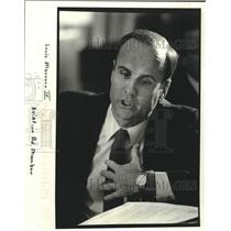 1982 Press Photo Louis Marrero IV, Board Member- New Orleans Aviation Board
