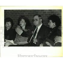 1994 Press Photo Summit meeting of St. John the Baptist Parish public officials