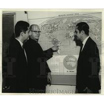 Press Photo Brazilian planners visit Loyola University's Inter-American Center