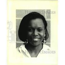 Press Photo Ayanna Johnson, Merit Scholar from Ben Franklin High School