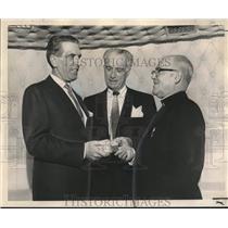 1962 Press Photo Antonio Garrigues, ambassador of Spain, Loyola University