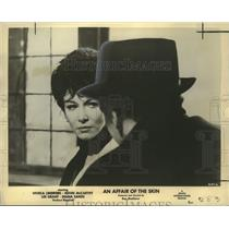"""1964 Press Photo Lee Grant and Kevin McCarthy, """"An Affair of the Skin"""""""