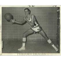 1969 Press Photo St. Aloysius basketball player Butch Fourroux - nos14319