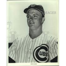 1972 Press Photo Chicago Cubs baseball player Gene Hiser - nos14699