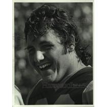 1980 Press Photo Los Angeles Rams football player Dennis Harrah - nos15092