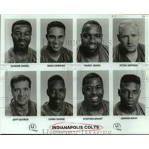 1993 Press Photo Indianapolis Colts football mug shots - nos14030