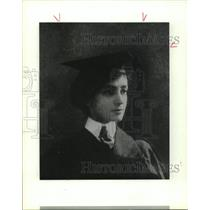 1913 Press Photo Dr. Ray Karchmer Daily on graduation from Medical School in TX