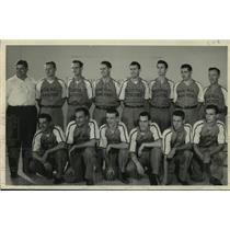 1949 Press Photo Milwaukee Journal baseball players, the Journal Peaches