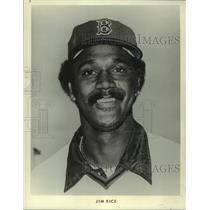 1979 Press Photo Jim Rice of the Boston Red Sox baseball team - mjc36387
