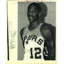 1983 Press Photo San Antonio Spurs Basketball Player Kevin Williams - sas19836