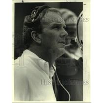1988 Press Photo Cincinnati Bengals Football Head Coach Sam Wyche - sas19861
