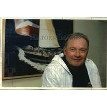 1992 Press Photo America's Cup veteran Buddy Melges - mjc37034