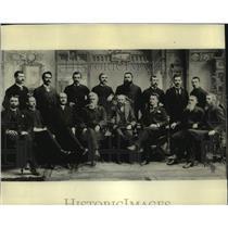 1893 Press Photo Historic, Spokane City Commissioners - spb22586