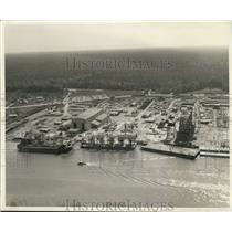 1960 Press Photo McDermott Fabricating Co, Bayou Boruf Yards - nob80061