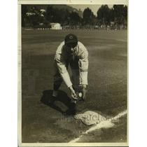 1967 Press Photo Chicago Cubs Infielder Bill Jurges - nos17662