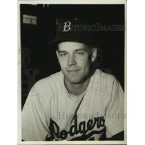 1967 Press Photo Brooklyn Dodgers baseball pitcher Ken Lehman - nos18079