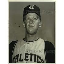1967 Press Photo Kansas City Athletics baseball player Lew Krausse - nos18214
