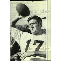 1969 Press Photo New Orleans Saints football player Bill Kilmer - nos17873