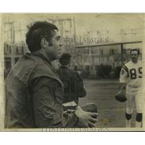 1970 Press Photo Minnesota Vikings football player Joe Kapp - nos18434