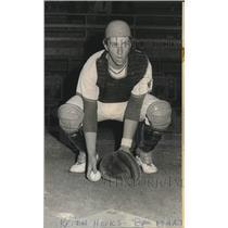 1972 Press Photo Baseball - Catcher Keith Hooks of Sure Klean - noo31985