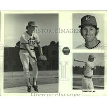 1975 Press Photo Houston Astros Tommy Helms - nos18348