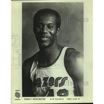 Press Photo Portland Trailblazers Basketball Player Kermit Washington