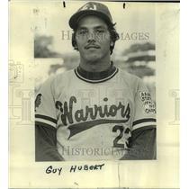 1977 Press Photo East Jefferson High baseball player Guy Hubert - nos17937