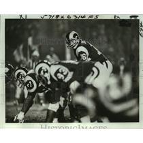 1977 Press Photo Philadelphia Eagles football player Ron Jaworski - nos17268