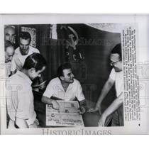 1949 Press Photo Communists Discuss Excommunications