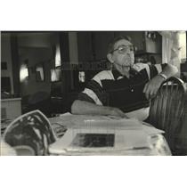 1994 Press Photo Korean War Veteran Richard Edlebeck of Oak Creek, United States