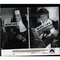 1980 Press Photo Airplane Movie Julie Hagerty Paramount - RRW55809