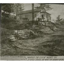 1919 Press Photo Dr Cook Old School Exterior - RRW78229