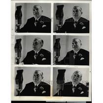 1937 Press Photo Major Edward Bowes Columbia Program - RRW21315