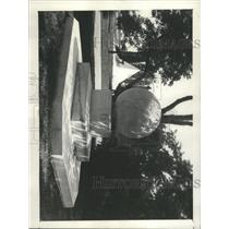 1930 Press Photo Rear Admiral Robert E. Peary Grave - RRX93077
