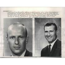 1966 Press Photo Pilots Pete Conrad & Richard Gordon, NASA Gemini 11 flight
