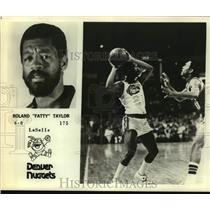 Press Photo Denver Nuggets Basketball Player Roland Taylor Looks to Pass