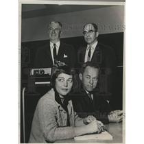 1960 Press Photo Aviation Safety Refresher Course, Boght School, Albany, NY