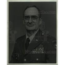 1991 Press Photo Major General Ivan Smith, Top Alabama National Guard Officer