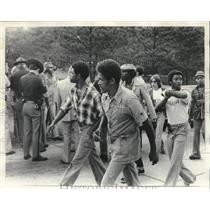 1978 Press Photo Reverend R.B. Cottonreader Leads Group to Cullman, Alabama