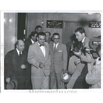 1956 Press Photo Michigan State Locate Great Lakes Regi