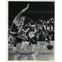 1983 Press Photo Phil Ford of the Milwaukee Bucks - mja58850