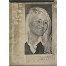 1974 Copy of 1972 Press Photo Bullring Womens Rights Leader Hernandez Spain