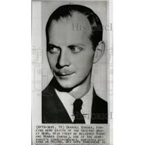 1939 Press Photo Richard Mowrer correspondent Poland - RRW71125